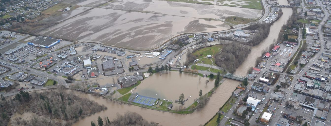flooding Courtenay