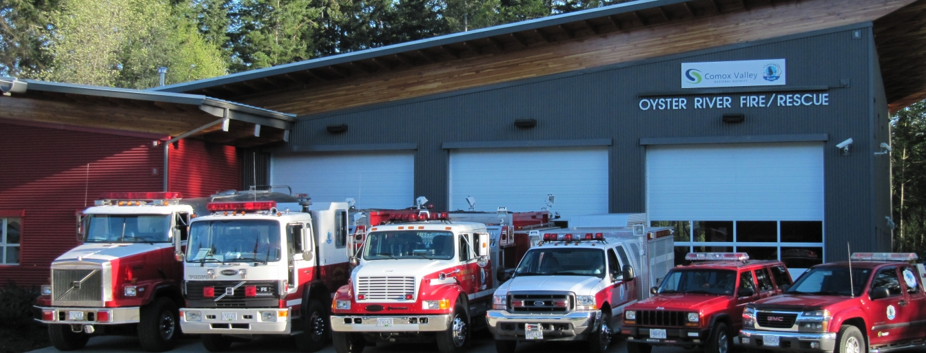 Oyster River Fire Rescue Centre