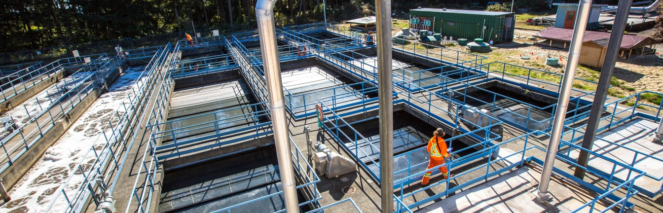 Odour control measures are being undertaken at the Comox Valley Water Pollution Control Centre