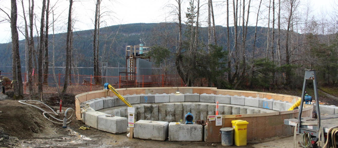 Wet well at RWPS