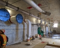 Pipe gallery at the WTP