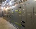 These panels house all of the electrical equipment needed to keep the plant and its back-up systems running.